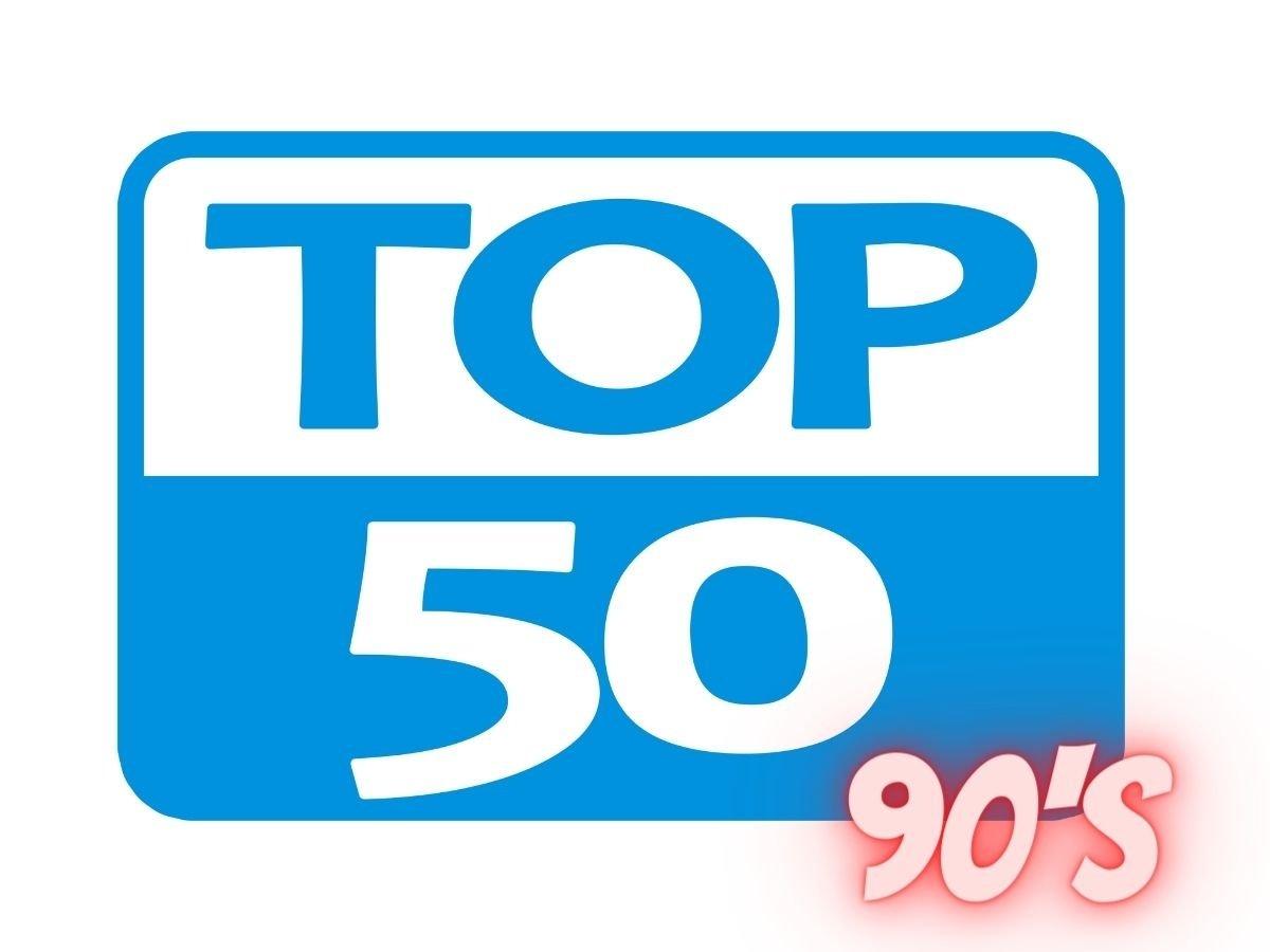 Top 50 année 90