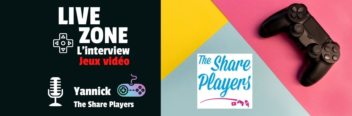 Live Zone : Interview Yannick - The Share Players